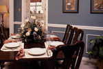 Saltbox House Plan Dining Room Photo 01 - Fort Mill Country Salt Box Home 024D-0042 | House Plans and More