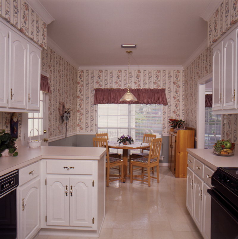 Saltbox House Plan Kitchen Photo 01 - Fort Mill Country Salt Box Home 024D-0042 | House Plans and More