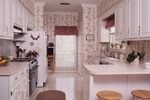 Traditional House Plan Kitchen Photo 02 - Fort Mill Country Salt Box Home 024D-0042 | House Plans and More