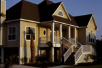 Beach & Coastal House Plan Front Photo 01 - Pleasant Hill Coastal Home 024D-0047 | House Plans and More