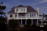 Craftsman House Plan Rear Photo 01 - Pleasant Hill Coastal Home 024D-0047 | House Plans and More