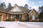 Traditional House Plan Front Photo 04 - Cedar Vista Craftsman Home 024D-0055 | House Plans and More