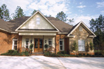 Traditional House Plan Front Photo 05 - Cedar Vista Craftsman Home 024D-0055 | House Plans and More