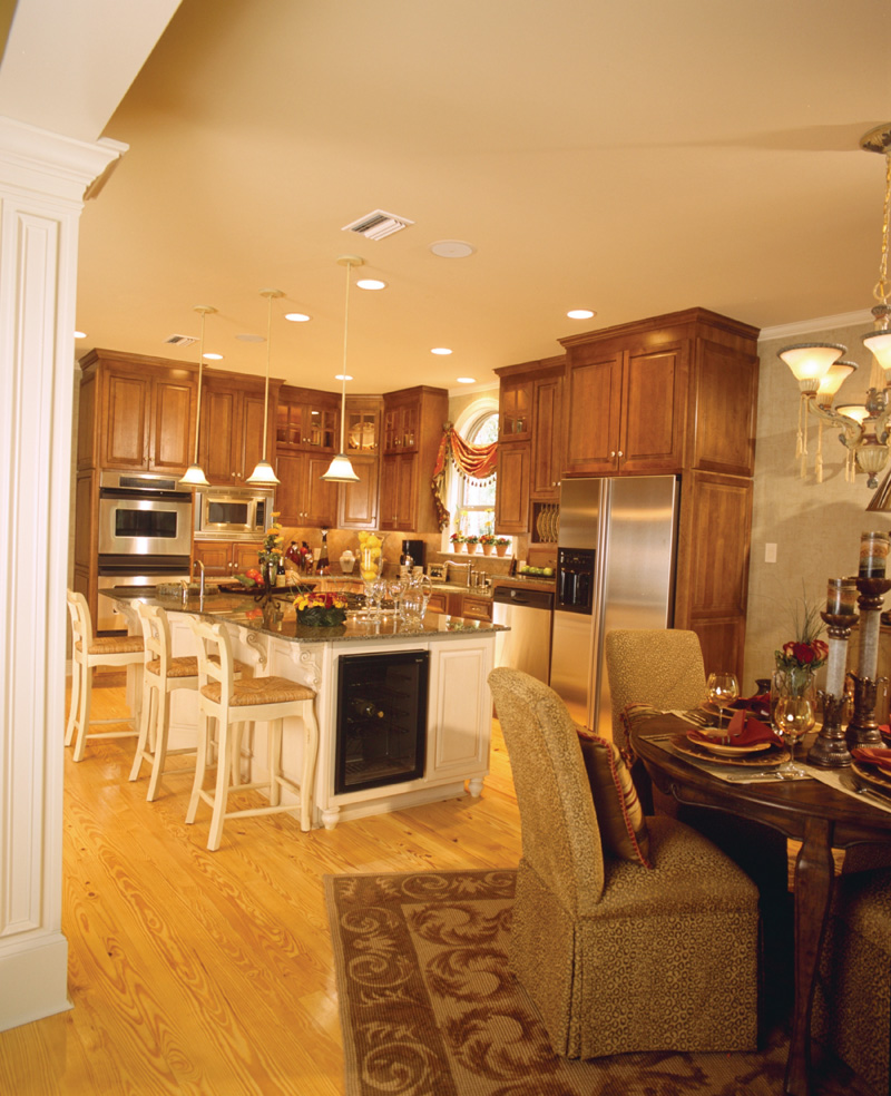 Traditional House Plan Kitchen Photo 02 - Cedar Vista Craftsman Home 024D-0055 | House Plans and More