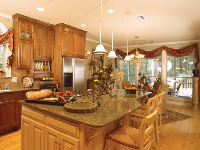 Traditional House Plan Kitchen Photo 03 - Cedar Vista Craftsman Home 024D-0055 | House Plans and More