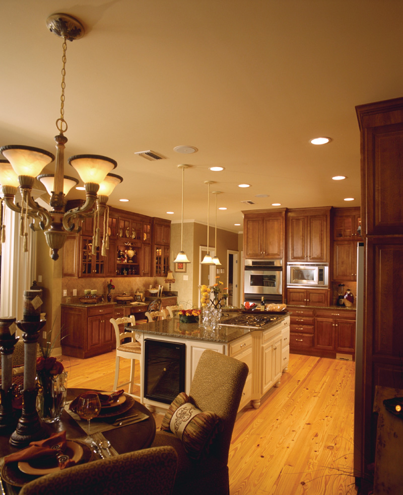Traditional House Plan Kitchen Photo 05 - Cedar Vista Craftsman Home 024D-0055 | House Plans and More