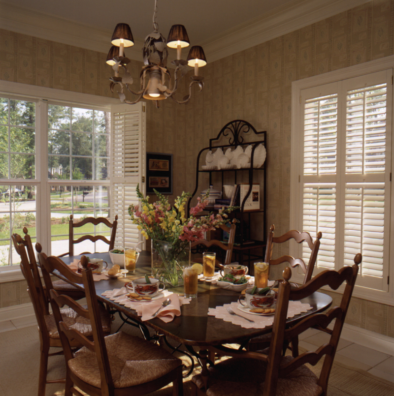 Greek Revival House Plan Dining Room Photo 01 - Whitemire Luxury Colonial Home 024D-0058 | House Plans and More