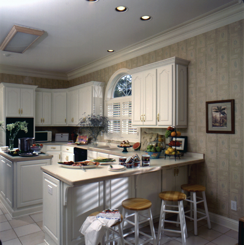 Greek Revival House Plan Kitchen Photo 02 - Whitemire Luxury Colonial Home 024D-0058 | House Plans and More