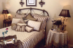 Country French House Plan Bedroom Photo 01 - Newberry European Home 024D-0060   House Plans and More