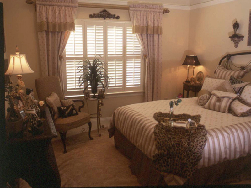 Country French House Plan Bedroom Photo 02 - Newberry European Home 024D-0060   House Plans and More