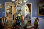 Country French House Plan Dining Room Photo 01 - Newberry European Home 024D-0060   House Plans and More