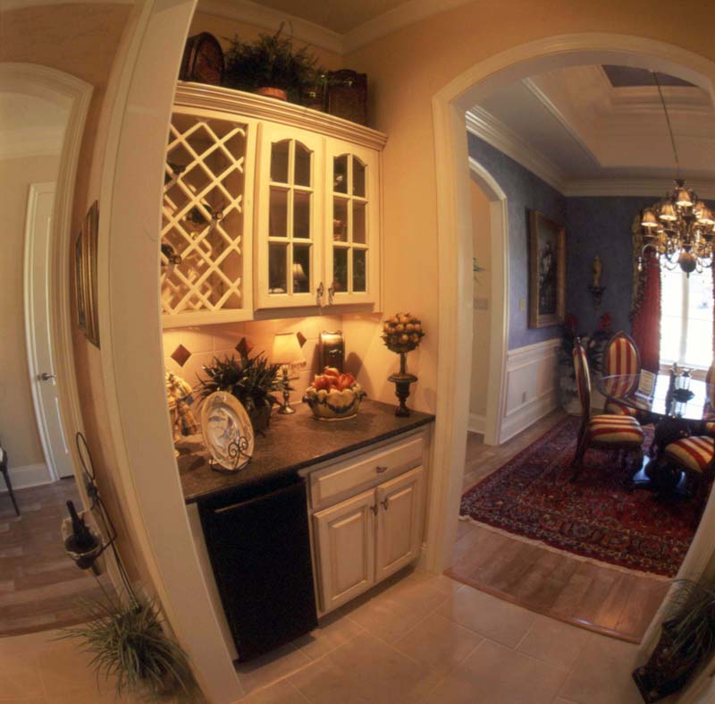 Country French House Plan Dining Room Photo 02 - Newberry European Home 024D-0060   House Plans and More