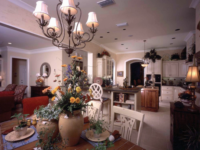 Country French House Plan Kitchen Photo 01 - Newberry European Home 024D-0060   House Plans and More