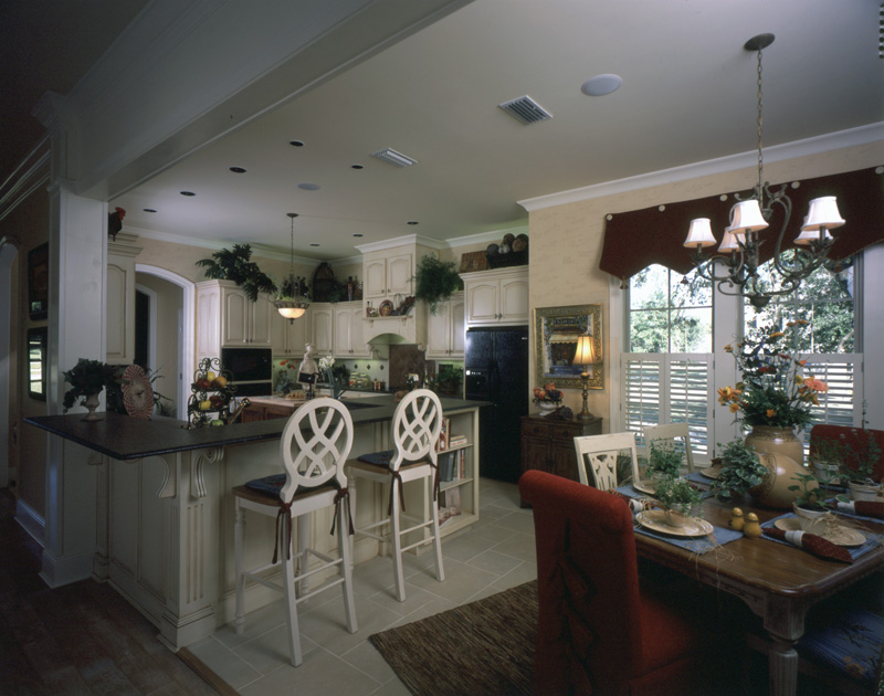 Country French House Plan Kitchen Photo 05 - Newberry European Home 024D-0060   House Plans and More