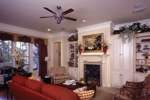 Country French House Plan Living Room Photo 02 - Newberry European Home 024D-0060   House Plans and More