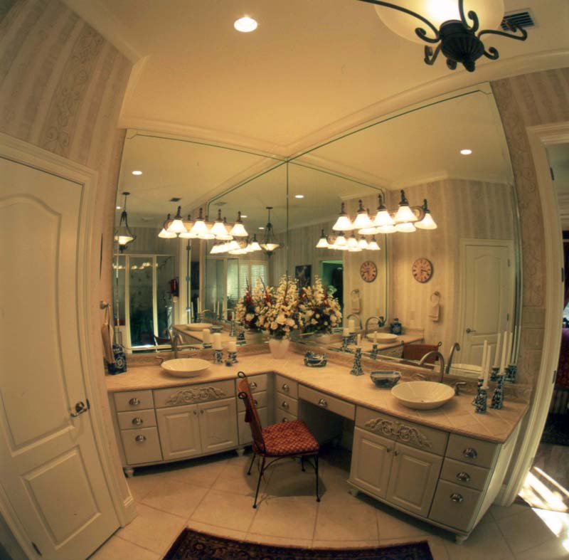 Country French House Plan Master Bathroom Photo 01 - Newberry European Home 024D-0060   House Plans and More