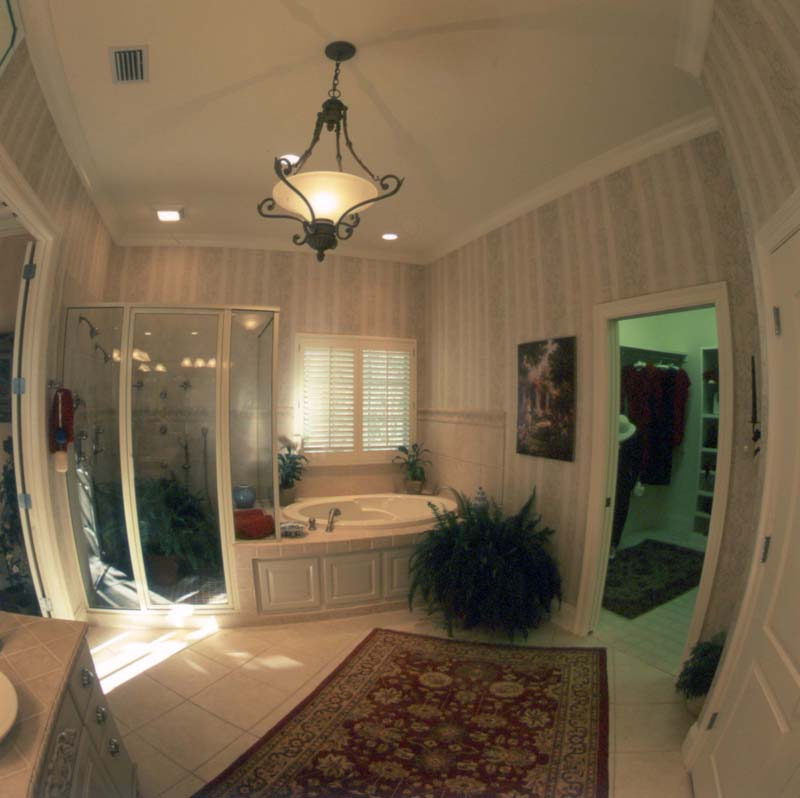 Country French House Plan Master Bathroom Photo 02 - Newberry European Home 024D-0060   House Plans and More