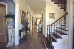 Country French House Plan Stairs Photo - Newberry European Home 024D-0060   House Plans and More