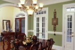 Country House Plan Dining Room Photo 01 - Chappelle Plantation Home 024D-0061 | House Plans and More
