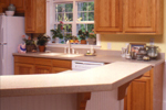 Country House Plan Kitchen Photo 03 - Chappelle Plantation Home 024D-0061 | House Plans and More