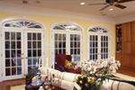 Country House Plan Living Room Photo 04 - Chappelle Plantation Home 024D-0061 | House Plans and More
