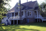 Country House Plan Rear Photo 01 - Chappelle Plantation Home 024D-0061 | House Plans and More