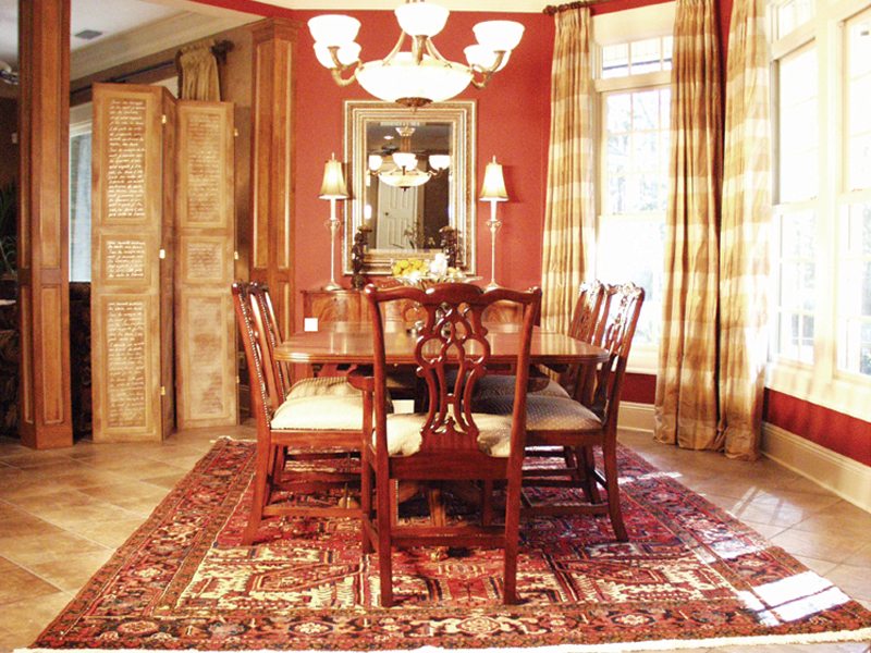 European House Plan Dining Room Photo 01 - Cross Hill Craftsman Farmhouse 024D-0062 | House Plans and More