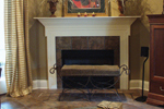 European House Plan Fireplace Photo 01 - Cross Hill Craftsman Farmhouse 024D-0062 | House Plans and More