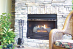 European House Plan Fireplace Photo 02 - Cross Hill Craftsman Farmhouse 024D-0062 | House Plans and More