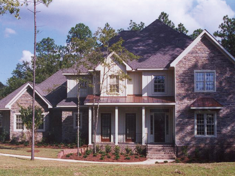 European House Plan Front Photo 01 - Cross Hill Craftsman Farmhouse 024D-0062 | House Plans and More