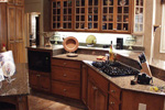 European House Plan Kitchen Photo 01 - Cross Hill Craftsman Farmhouse 024D-0062 | House Plans and More