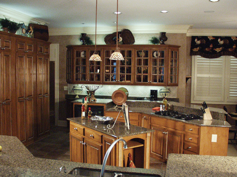 European House Plan Kitchen Photo 02 - Cross Hill Craftsman Farmhouse 024D-0062 | House Plans and More