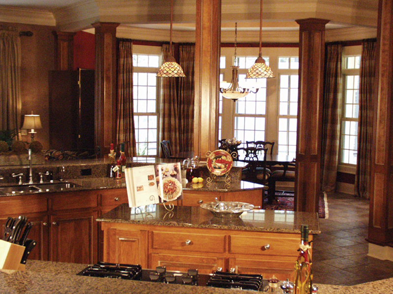 European House Plan Kitchen Photo 03 - Cross Hill Craftsman Farmhouse 024D-0062 | House Plans and More