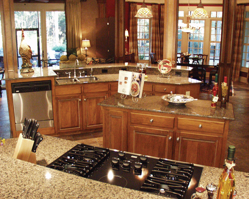 European House Plan Kitchen Photo 07 - Cross Hill Craftsman Farmhouse 024D-0062 | House Plans and More