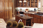European House Plan Kitchen Photo 08 - Cross Hill Craftsman Farmhouse 024D-0062 | House Plans and More