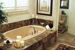 European House Plan Master Bathroom Photo 01 - Cross Hill Craftsman Farmhouse 024D-0062 | House Plans and More