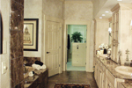 European House Plan Master Bathroom Photo 02 - Cross Hill Craftsman Farmhouse 024D-0062 | House Plans and More