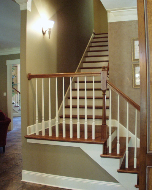 Craftsman House Plan Stairs Photo 01 - Cross Hill Craftsman Farmhouse 024D-0062 | House Plans and More