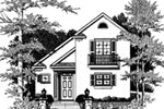 Front of Home -  024D-0070 | House Plans and More