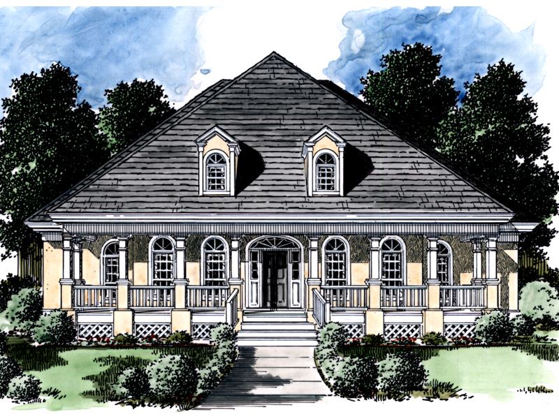 Maloney Bayou Lowcountry Home Plan 024D-0511 | House Plans ... on raised cottage house plans, raised bungalow house plans, raised southern house plans, raised modern house plans, raised ranch house plans, charleston low country home plans, charleston lowcountry house plans,