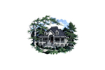 Front of Home -  024D-0619 | House Plans and More