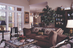 Neoclassical Home Plan Living Room Photo 01 - Pleasant Ridge Neoclassic Home 024D-0639 | House Plans and More