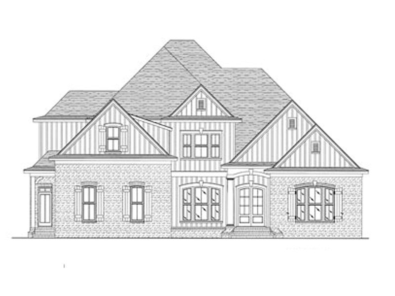 Front of Home -  024D-0678 | House Plans and More