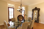 Country French House Plan Dining Room Photo 01 - Cash Canyon Acadian Home 024D-0795 | House Plans and More