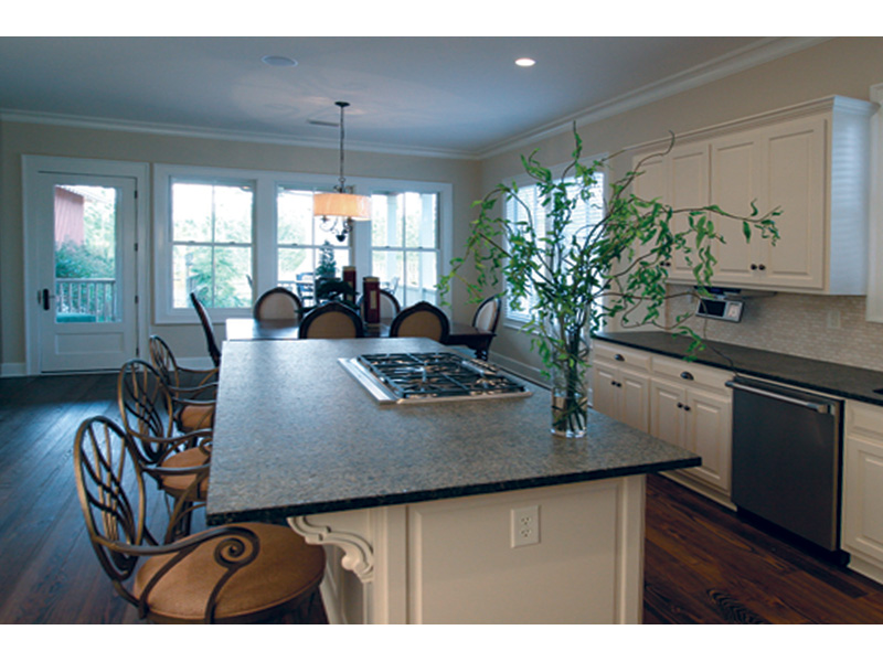 Acadian House Plan Kitchen Photo 03 - Damascus Southern Country Home 024D-0797   House Plans and More