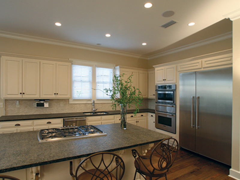Acadian House Plan Kitchen Photo 04 - Damascus Southern Country Home 024D-0797   House Plans and More