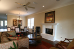 Acadian House Plan Living Room Photo 01 - Damascus Southern Country Home 024D-0797   House Plans and More