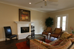 Acadian House Plan Living Room Photo 02 - Damascus Southern Country Home 024D-0797   House Plans and More