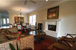 Acadian House Plan Living Room Photo 03 - Damascus Southern Country Home 024D-0797   House Plans and More