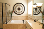Acadian House Plan Master Bathroom Photo 01 - Damascus Southern Country Home 024D-0797   House Plans and More